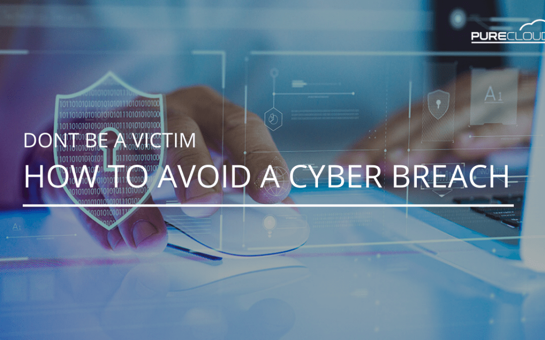 Don't Be A Victim – How to Avoid a Cyber Breach