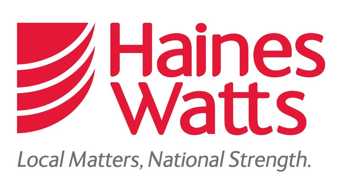 "<img src=""haines watts logo"" alt= ""Haines watts red and white logo"">"