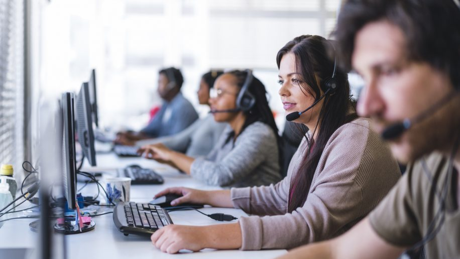 hosted dialler solution - call centre