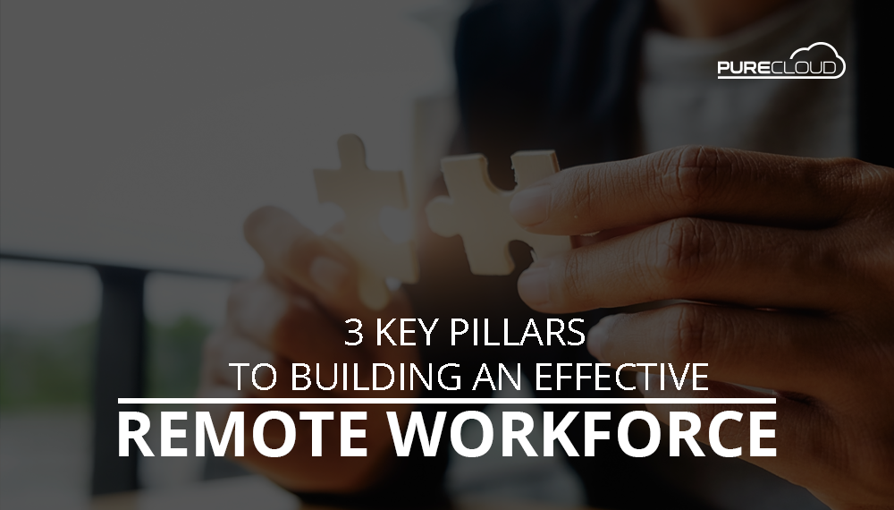 3 Key Pillars to Building an Effective Remote Workforce