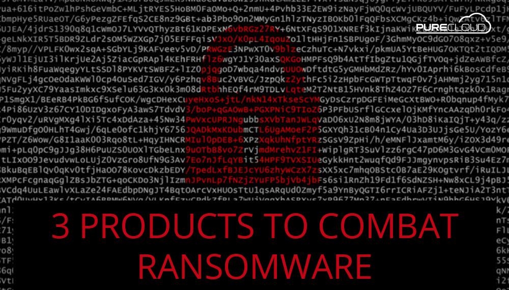 Products to Combat Ransomware